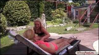 304963Teen Anastasia Blonde eats grannys pussy
