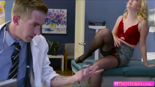 Hot sexy Samantha in an emergency fuck