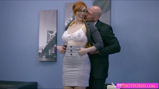 New secreetary gets banged at the office