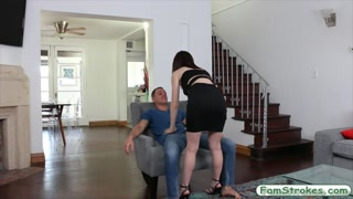 Cute stepsis Hailey Little pounded hard
