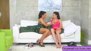 Lezley Zen and Kimberlee Anne lesbo sex