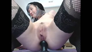 Rock honey with toys in exactly the ass-hole - burstpussy.com
