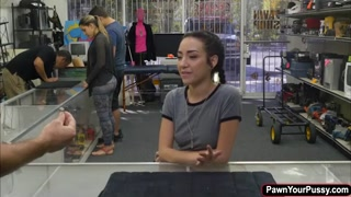 Petite Kiley Jay fucked by pawnshop dude