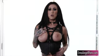 Big juggs emo bitch Lily Lane pounded