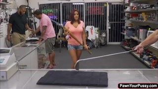 Mia Martinez takes gigantic prick for a cash