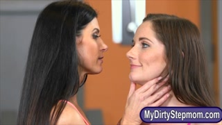 Hot milf India Summer enjoyed threesome