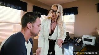Busty doctor Phoenix Marie pussy rammed