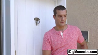 Dillion and Jamie fucked by a huge dick