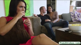 Naughty stepsis drilled by her stepbro