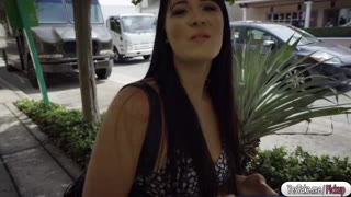Jessica gets fucked in the parking lot