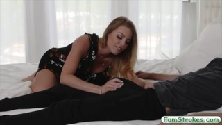 Horny dude fucks his stepdads sister