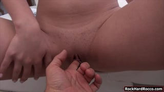 Lauren C and Evelina B throated big rods