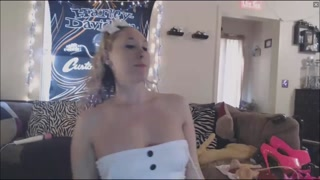Blonde Slut Has Big Clit And Juicy Holes For You
