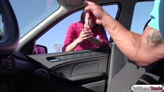 Nikki Stills getting fucked in the car