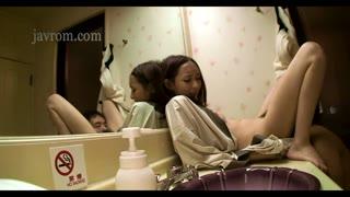 Japanese slut wife affair in the bathroom