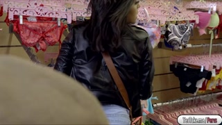 Mia Martinez fucked by store owner