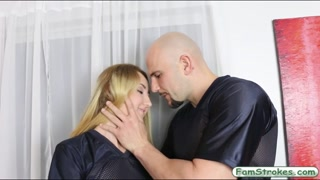 Gigi Flamez having sex and cum facialed