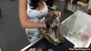 Hot latina getting fucked for money