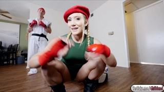 Gf Aj Applegate banged by bf