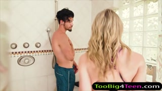 Aubrey Sinclair screwed in shower room