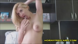 Spraying Milk From These Big Natural Tits