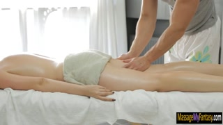 Marina Visconti pounded by her masseur