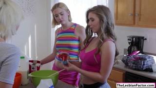 Lena Paul fucks lesbian friend