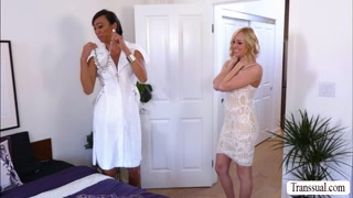 Gorgeous Kate gets banged hard by TS Venus
