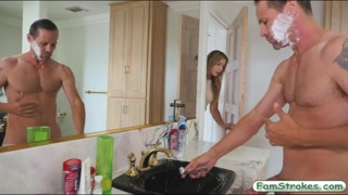 Blondie Blair Williams railed by stepdad