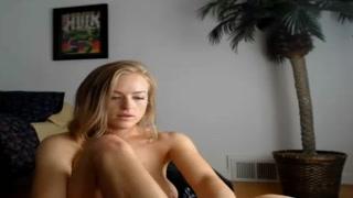white stunner takes a vibrator in her bottom