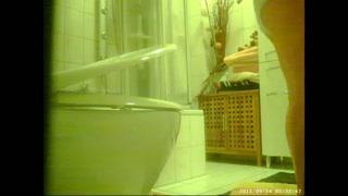 hidden take a shower