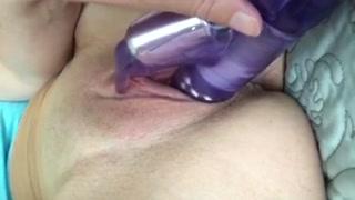 Rabbit Fake Penis Masturbation