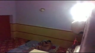 Paki boy hump desi married bhabi at buddy bedroom caught