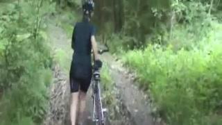 Bicycle Trip with jizz facial