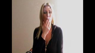 Blond Sweetheart Smoking #1