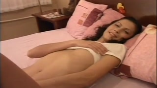 Sexy Russian dark-haired is got fucked vigorously in doggystyle