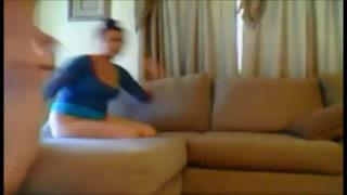 Cheating british paki house wife on genuine hiddencam.