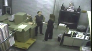 Warehouse Staff Sex Lady