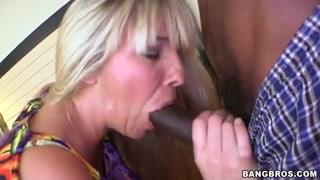 Jordan Kingsley pleasures large black meat