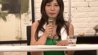 Sensible Japanese bombshell Karen Natsuhara in Hottest JAV uncensored Jizz attach