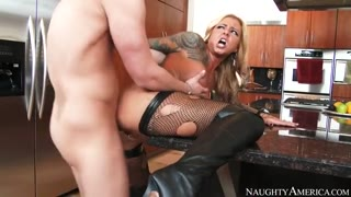 Britney Shannon  & Seth Gamble in My House Wife Shot Pal