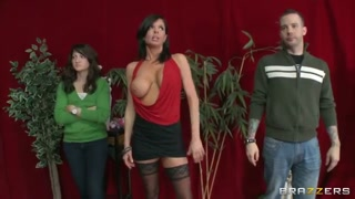 Nice brown-haired curve Veronica Avluv loves to undress in front of digital camera