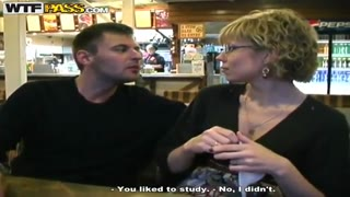 Throat dicks in public place is intriguing