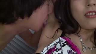 Horny Japanese model Sera Ichijo in Hottest JAV uncensored Threesomes pin