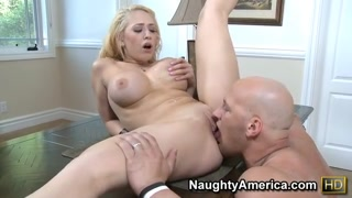 Kagney Linn Karter & Christian in I Have a House-wife
