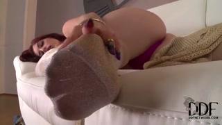Solo masturbation episode from Mira Sunset
