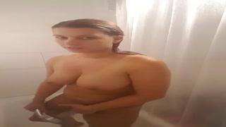 ich in der Dusch
