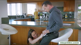 Geneva King pounded by her horny stepdad