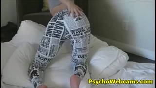 Black and White Yoga Pants Porn News