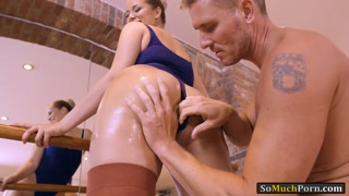 Phat ass ballerina Nikky Dream analyzed